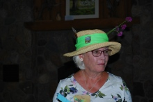 2018 Members Tea Best Pollinator Hat