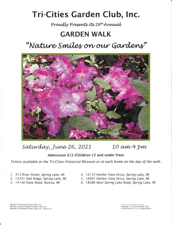 2021 garden walk flyer